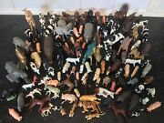 Vintage Collection Of 117 Toy Farm And Zoo Animals - Britains, Holly, Timpo And Elc