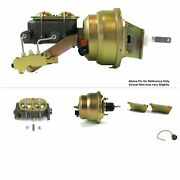 7 Dual Power Firewall Drum Brake Booster Kit No Prop Fits Ford Truck 1957-60