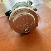 Avet Sx 5.01 Lever Drag Fishing Reel Made In Usa 🇺🇸 Silver Used