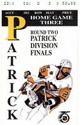 1992 Stanley Cup Playoffs Ny Rangers @ Pittsburgh Penguins Ticket Stub Jagr Goal