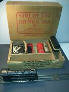 Vintage Stream Line Electric Trainset Louis Marx And Company Boxed Model No. 8994