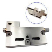 Wire Edm High Precision Vise Stainless Steel 4/100mm Jaw Opening Clamp Tool New