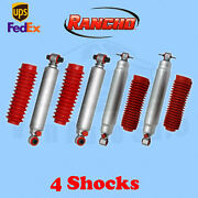 Rancho Rs9000xl Frontandrear 1-2.5 Lift Shocks For Chevy Blazer 4wd 92-94 Kit 4