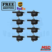 Ignition Coil Msd Fits Gmc Sierra 2500 Hd Classic 2007