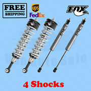 Fox Shocks Kit 4 Front 0-2 And Rear 0-1 Lift For Toyota Tundra 2007-2020