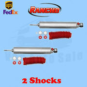 Rancho Rs9000xl Front 0-1.5 Lift Shocks For Jeep Wrangler Yj 4wd 86-96 Kit 2