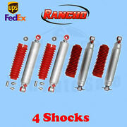 Rancho Rs9000xl Frontandrear 2.5-4 Lift Shocks For Chevy Blazer 4wd 92-94 Kit 4