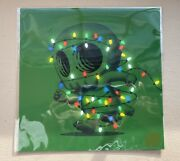 Mike Mitchell Christmas Xmas Lights Skully Art Print - Limited Xx/65 - Sold Out