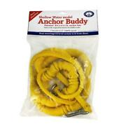 Greenfield Swab-y - Shallow Water Anchor Bungee Cord Aband039s - 1/2 Size - Yellow