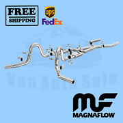Exhaust- System Kit Magnaflow For Oldsmobile Cutlass 1964-1967