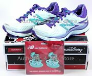 New Balance Rundisney Run Disney Mad Tea Party Shoes 880 V6 With Clips Size 5