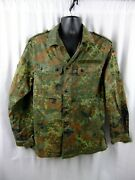 German Army Coat Wahler Camo Nato Size 8595/0510 Approx Medium Size