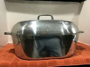 Vintage Magnalite Ghc Roaster With Lid And Trivet Free Shipping