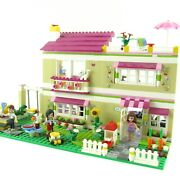 Lego Friends Olivia's House 3315 Complete With Manual Minifigures 2012 Retired