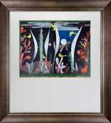 Paul Klee Lithograph Landscape With Yellow Birds Ltd. Ed
