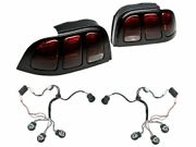 Raxiom Tail Lights With Sequential Tail Light Kit Fits Ford Mustang 1994-1998