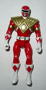 Bandai Power Rangers 20 Mighty Morphin Red Ranger Armored 5 Figure Only