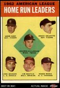 1963 Topps 4 Harmon Kille Tigers / Twins / Angels / Orioles / Yankees 4 - Vg/ex