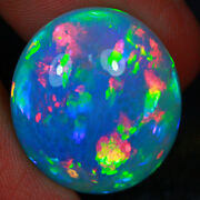 16.08 Ct Patchwork Honeycomb Pattern Rare Multi Color Welo Ethiopian Opal-md1