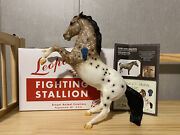 Breyer 2019 Vintage Club Leopold Fighting Stallion With Coa And Box