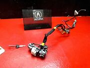 98 99 Acura Integra Ignition Switch Cylinder Wire Harness With Key Automatic Oem
