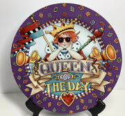 Mary Engelbreit Enesco Queen For The Day Birthday/pastry Plate 2001