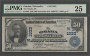 1902 50 Date Back National Bank Note Pmg 25 Vf