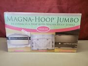 Magna-hoop Jumbo 7 X 12 For Baby Lock Brother Quilt Machine Embroidery Hoop
