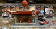 Hot Wheels Snap-on Service Station No Box W All 6 Cars Sealed And 2 Cars Extra