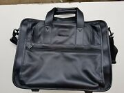 Tumi Rolling Leather Carry-on / Briefcase