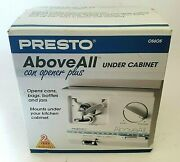 Vintage Presto Above All Plus Automatic Under Cabinet Can Opener 05605