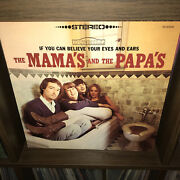 Toilet Mint- Mamas And The Papas Nm- Vinyl Butcher Beatles Adback Cover Psych