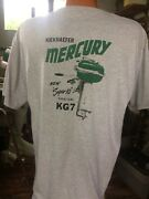 Vintage Mercury Kg7 Super 10 New Screen Printed T Shirt Size Small