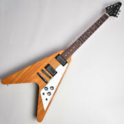 New Gibson Flying V 2019 Antique Natural 119890389 Electric Guitar From Japan