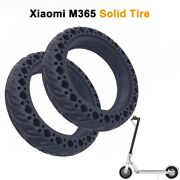 2pcs Rubber Solid Tire For Xiaomi Mijia M365/ 8.5 Inch Electric Scooter Shock