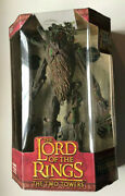 Vintage Lord Of The Rings The Two Towers 17 Electronic Treebeard Toybiz New