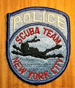Gemsco Nos Nypd Vintage Patch - Police Scuba Team Nypd Ny - 35+ Years Old V3