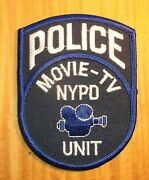 Gemsco Nos Nypd Vintage Collectibie Patch Police Movie - Tv Unit Nyc Ny - 35+