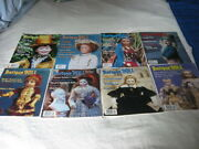 8 Antique Doll Collector Magazines/books 4 2002, 2 2003 And 2 2004