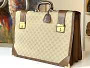 Italy 18 Supreme Vintage Lawyer Professional Briefcase Doctor Attache Bag