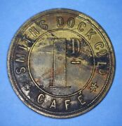 Smiths Dock Company Ltd - Cafe - One Penny Trade Token - North Star - 41014972