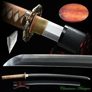 Kobuse Jihada Forged With Clay Tempered Blade Japanese Sword Battle Ready 3429