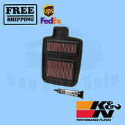 Replacement Air Filter Kandn For Arctic Cat 650 H1 4x4 Auto Trv 2008-2009