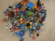 Beyblades Metal Assorted Lot + Accessories/parts/launchers