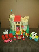 Vintage 1974 Fisher Price Play Family Castle 993 First Edition Flag Complete