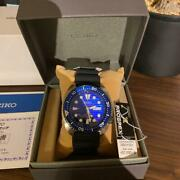 Seiko Prospex Save The Ocean M Mech Divers Sbdy021 Unused Watch Men's Blue Dial