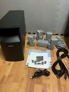 Bose Acoustimass 10 Series Iv Home Theater Speaker System - With Cables, Manuals