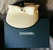 2021 Visor Beige And Black New In Box Ltd.ed. Sold Out Htf Gorgeous ❤