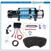 Eccpp Electric Winch 13000lbs 4wd Truck For Jeep Truck 2 Remote Control W/cover