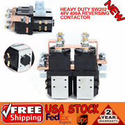 Heavy Duty Sw202 48v 400a Reversing Contactor For Golf Cart Parts Auto